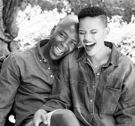 Gail Mabalane is married to her husband Kabelo Mabalane since 2013.