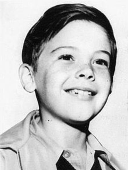 Child actor Bobby Driscoll.