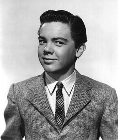 Bobby Driscoll ventured into crime after his professional career and personal life ended in tatters.
