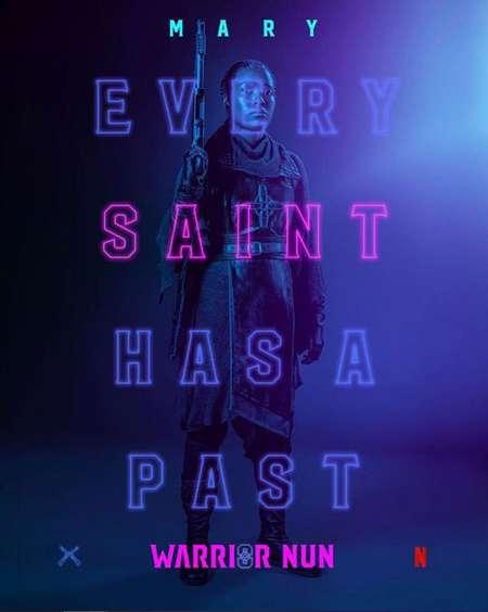Toya Turner plays Shotgun Mary in the Netflix series Warrior Nun.