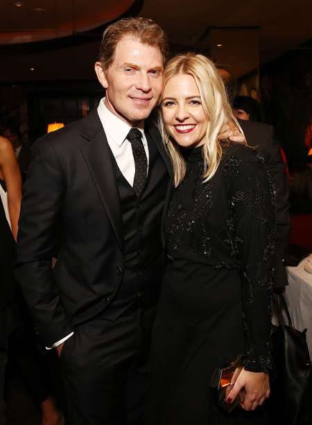 Bobby Flay and actress Helene Yorke were together for over two years before breakig up in 2019.