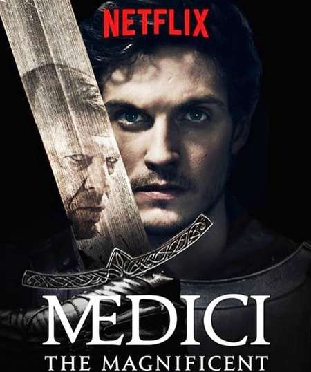 Daniel Sharman starred in the second and third season of the series Medici.