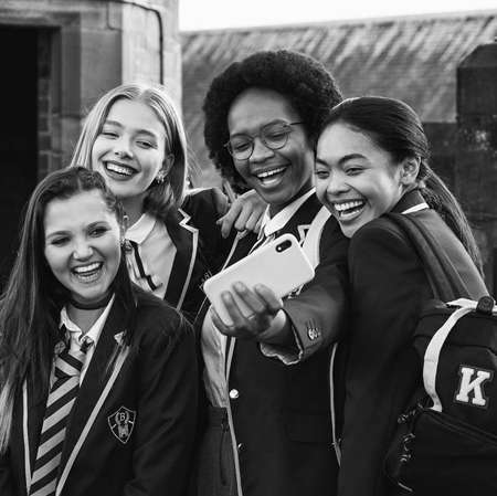 Get Even Netflix cast is a diverse group of British girls who team up to fight bullies in their school.