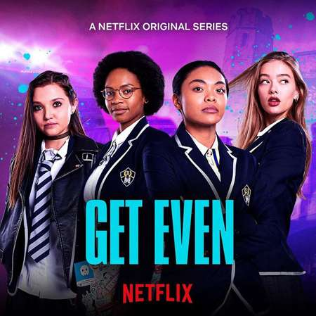 Kim Adis plays Kitty Wei in the Netflix series Get Even.