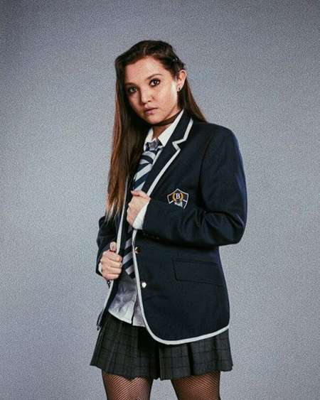 Mia McKenna-Bruce plays Bree Deringer in the Netflix series Get Even.