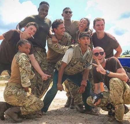 Shalom Brune-Franklin appeared in the BBC series Our Girl.