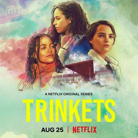 Kiana Madeira plays Moe in the Netflix series Trinkets.