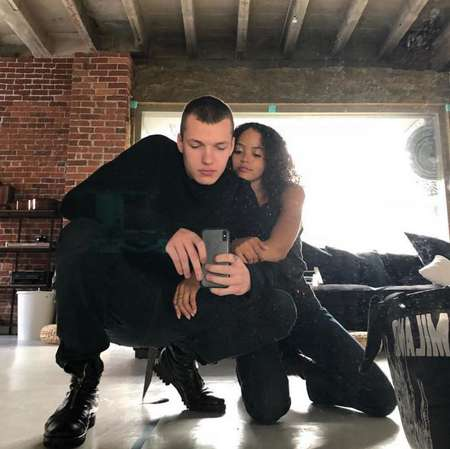 Quintessa Swindell is currently in a relationship with their boyfriend Jakob Hetzer.