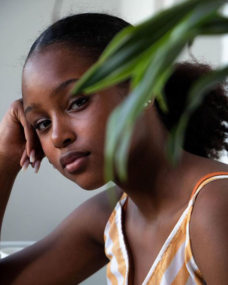 14-year-old Fathia Youssouf leads the cast of Cuties, currently streaming on Netflix