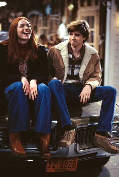 Eric and Donna dated for much of That '70s Show.