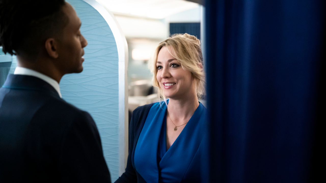 Kaley Cuoco plays the role of Cassie Bowden on The Flight Attendant.